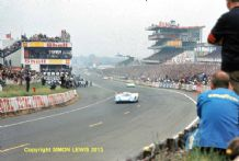 Porsche 917 Elford/Attwood at Dunlop Curve Le Mans 1969